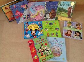 10 piece children's book bundle