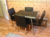 HOUSE CLEARANCE, LEATHER SOFA, DINNING TABLE, TV STAND, CHEST FREEZER, ....