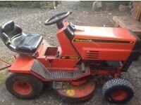 Westwood garden tractor/ride on mower
