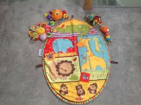 Fisherprice Playmat and rattles