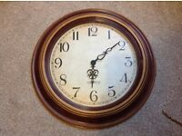 "Clock oversized 24"" diameter"