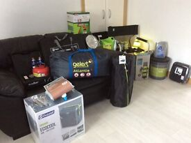 "FOR SALE CAMPING EQUIPMENT (BARGIN) """"extra reduced price"""""