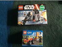 2 brand new unopened lego sets £15
