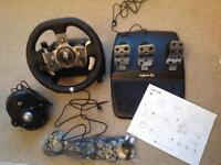 Logitech G920 Driving Force racing wheel & shifter ( Xbox & PC )