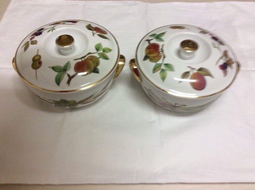 Royal Worcester vegetable serving dishes