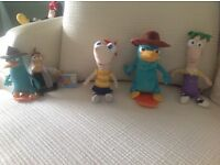 Phineas and Ferb, Perry the Platypus and Dr Doofenschmirtz