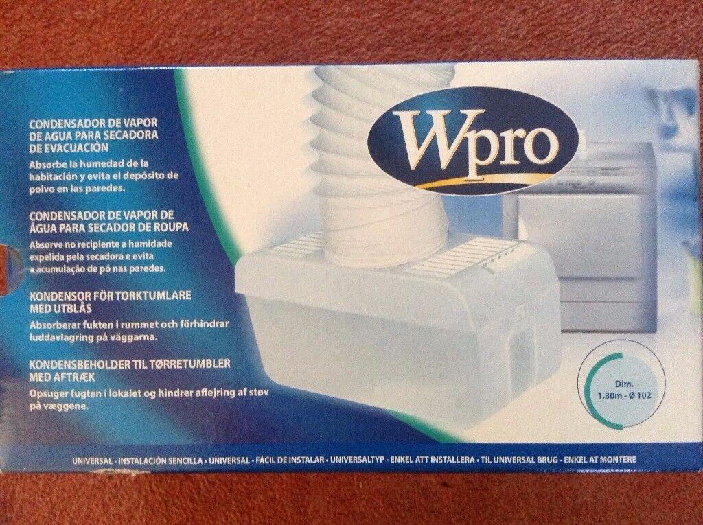 Wpro Water condenser dryer for air vent dryer