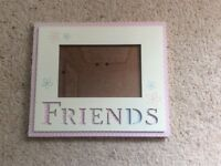 Girl's picture frame