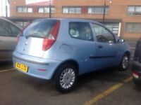 Fiat punto active 1.2 2006 only 83000 miles leaves with year MOT blue metallic ideal first car