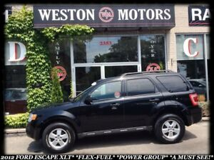 2012 Ford Escape XLT *V6 *AWD *FLEXFUEL *POWER GROUP *A MUST SEE
