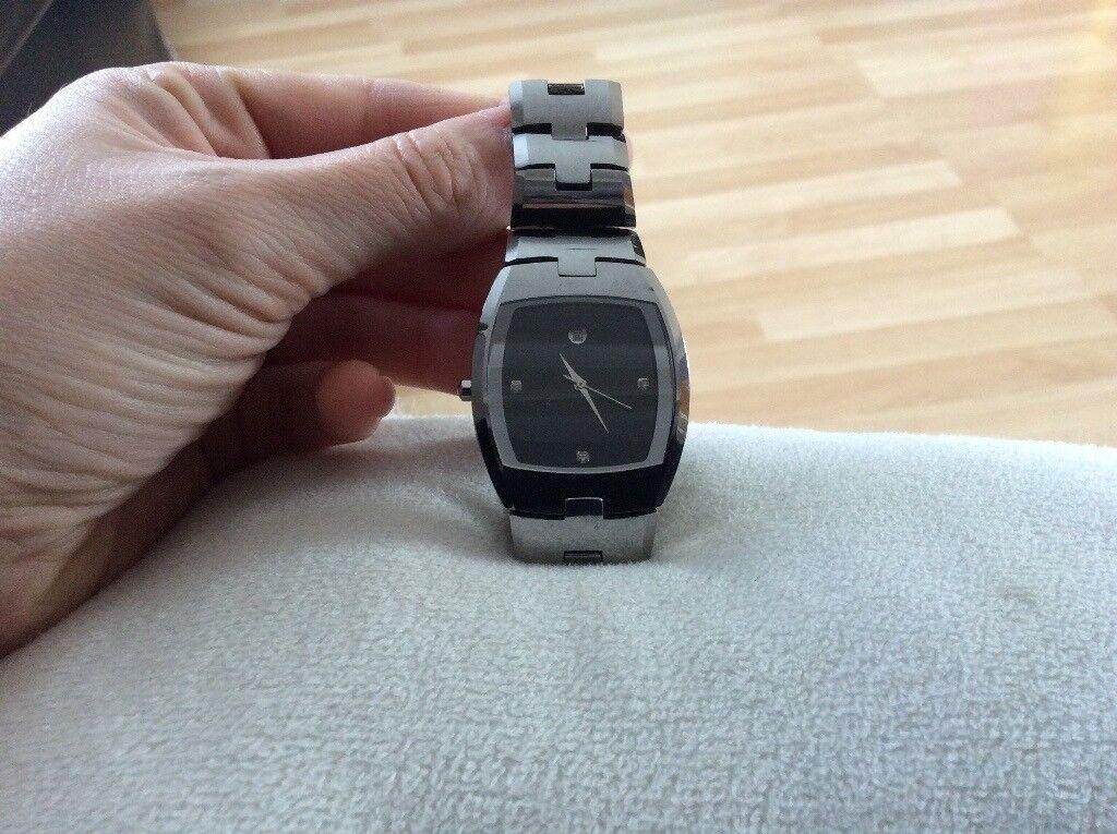 men's tungsten watch