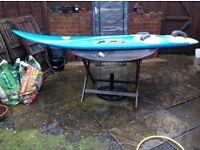 Mistral free ride flow 105 windsurf board