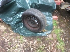 Ford escort ,Orion other road wheel and very good tyre