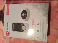New boxed Motorola Baby Monitor