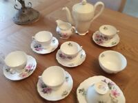 Colclough C5 Bone China Tea Set & Coffeepot