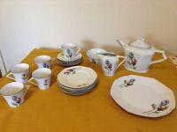Art Deco style Tea Set -Made in Czechoslavakia