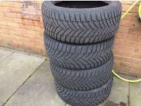 Dunlop SP Winter Tyres M3 (part worn)