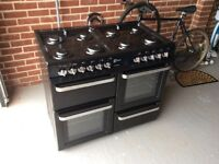 Flavel Aspen 100 Duel fuel range cooker, as new condition. Hardly used.