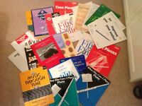 15 different flute music books grades 1 to 5