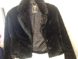 Lipsy faux fur jacket