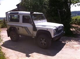 LAND ROVER DEFENDER 300 TDI COUNTY STATION WAGON. . USED EVERY DAY
