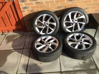 Vauxhall corsa e - Adam 17 in alloy wheels