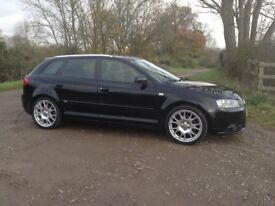 2006 A3 S Line, full leather, heated seats, rare BBS alloys.
