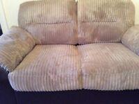 2 + 3 seat sofas - good condition
