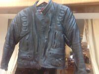Lady's leather bikers jacket