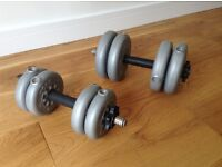 York Barbells. Very good condition.