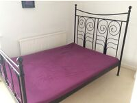 5 piece furniture house clearance: 2x double beds, 2x wardrobe , 1x dining table and 6 chairs