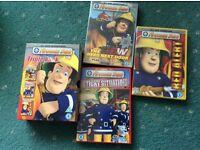 Fireman Sam DVD set