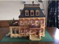 Playmobil Mansion and Furniture Bundle