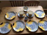 Poole Pottery Vincent/Sunflower Pattern