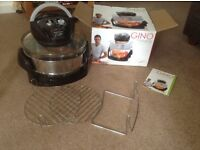 Halogen oven ,12litre by Gino d'acampo