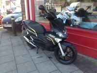 GILERA RUNNER 50cc STEALTH BLACK EDITION RECENT SERVICE DELIVERY CAN BE ARRANGED