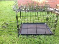 Small RAC metal, fold flat, dog crate