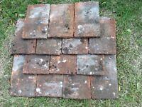 Handmade clay nib tiles