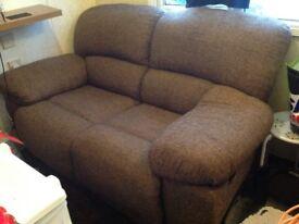 Oak furniture land 2 seater sofa