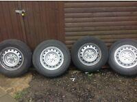 Mitsubishi wheels and tyres