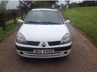 Renualt Clio 1.2 petrol 2001