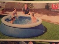 Quick up 8ft family pool and accesories