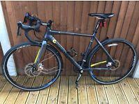 Men's Chris Boardman cyclocross bike.Cx Team model