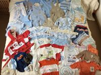 0-3mth Bundle of Baby boy clothes in excellent condition and great quality