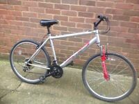 Adults Mountain Bike Front Suspension 18 sp