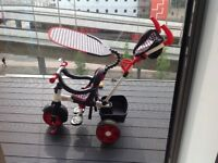Little Tikes 4-in-1 black and red Trike