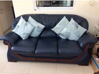Leather Suite (Navy)