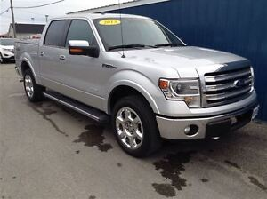 2013 Ford F-150 Lariat S/Crew 4x4 1 Local Owner
