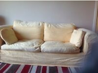 Yellow Sofa bed FREE to anyone who can collect. Reasonable condition.