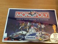 Monopoly World Cup Edition France 1998 - Vintage new and sealed
